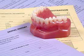 dentures exams and maintenance
